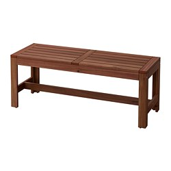 ÄPPLARÖ - bench, outdoor, brown stained | IKEA Hong Kong and Macau - PE735738_S3