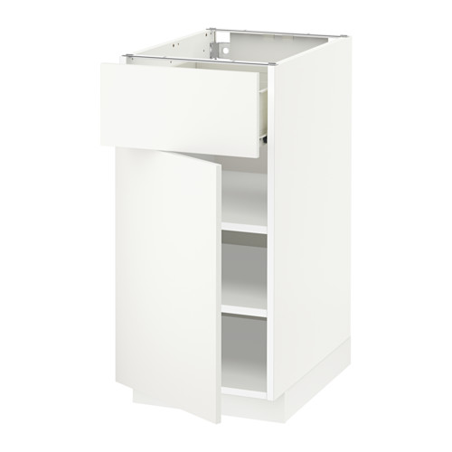 METOD/FÖRVARA base cabinet with drawer/door