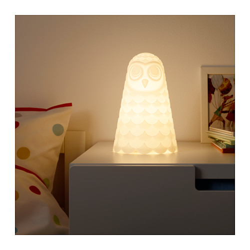 SOLBO - 座檯燈, 白色/貓頭鷹 | IKEA 香港及澳門 - PE645478_S4
