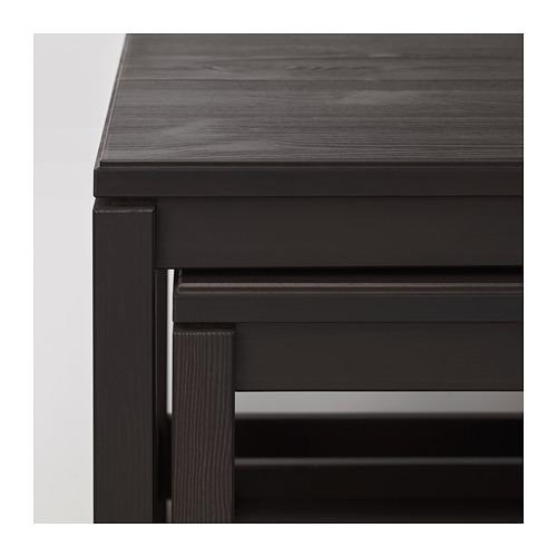 HAVSTA - 茶几,2件套裝, 深褐色 | IKEA 香港及澳門 - PE693481_S4