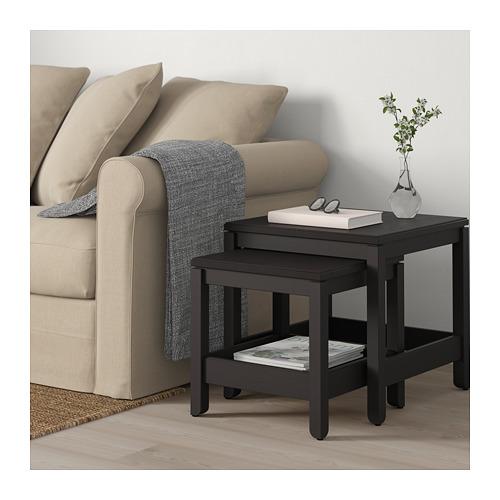 HAVSTA - 茶几,2件套裝, 深褐色 | IKEA 香港及澳門 - PE693482_S4