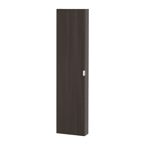 LILLÅNGEN - wall cabinet with 1 door, black-brown | IKEA Hong Kong and Macau - PE693519_S4