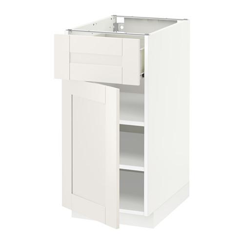 METOD/FÖRVARA base cabinet with drawer/door