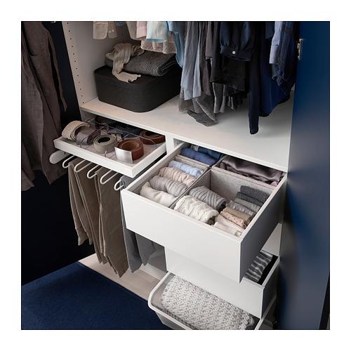 KOMPLEMENT 貯物箱,4件裝