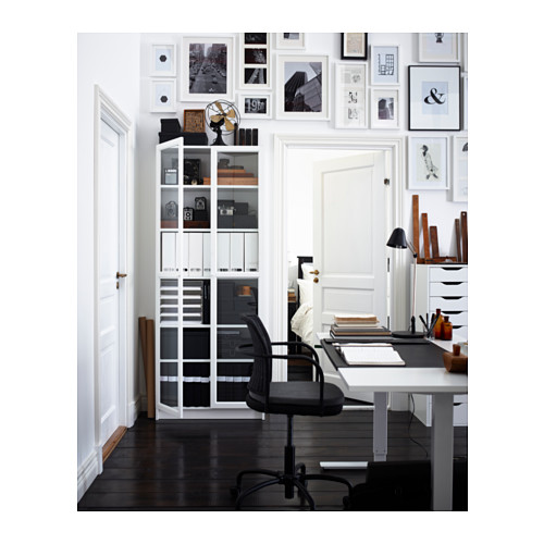BILLY/OXBERG - bookcase, white | IKEA Hong Kong and Macau - PH130080_S4