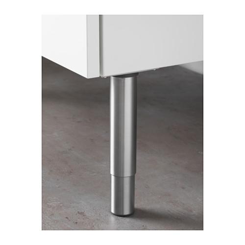 GODMORGON - leg, round/stainless steel   IKEA Hong Kong and Macau - PE645627_S4