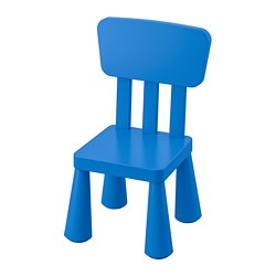 MAMMUT - children's chair, in/outdoor/blue | IKEA Hong Kong and Macau - PE735928_S3