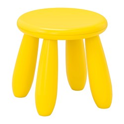 MAMMUT - children's stool, in/outdoor/yellow | IKEA Hong Kong and Macau - PE735970_S3