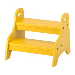 TROGEN - children's step stool, yellow | IKEA Hong Kong and Macau - PE735969_S3