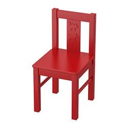 KRITTER - 兒童椅, 紅色 | IKEA 香港及澳門 - PE735972_S3