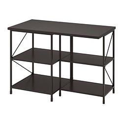 ENHET - kitchen isl storage comb w seating, anthracite | IKEA 香港及澳門 - PE835163_S3