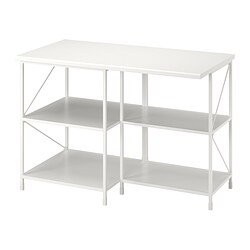 ENHET - kitchen isl storage comb w seating, white | IKEA 香港及澳門 - PE835162_S3