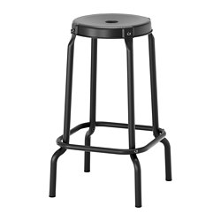 RÅSKOG - 高腳凳, 椅座高度63cm, 黑色 | IKEA 香港及澳門 - PE736045_S3