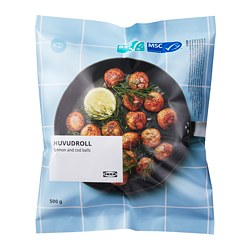 HUVUDROLL - 三文魚鱈魚丸, ASC認證/MSC認證 急凍 | IKEA 香港及澳門 - PE789721_S3