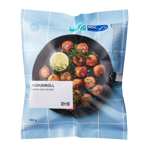 HUVUDROLL - salmon and cod balls, ASC certified/MSC certified frozen | IKEA Hong Kong and Macau - PE789721_S4