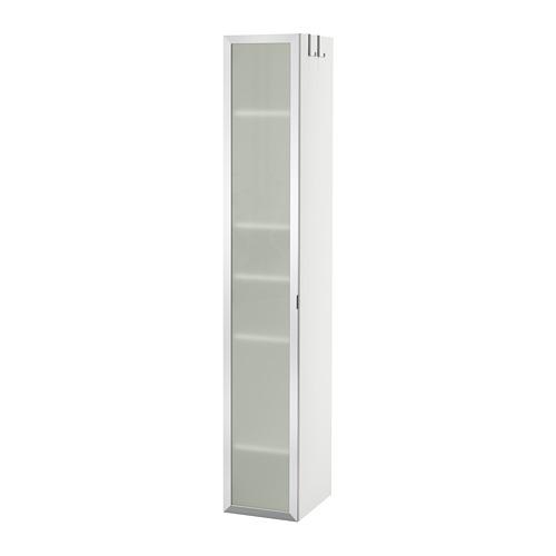 LILLÅNGEN - high cabinet, white/aluminium   IKEA Hong Kong and Macau - PE693619_S4