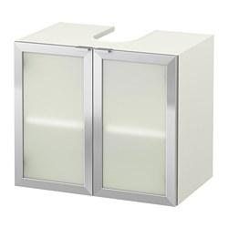LILLÅNGEN - 雙門洗手盆地櫃, 白色/鋁 | IKEA 香港及澳門 - PE693640_S3