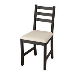 LERHAMN - 椅子, 棕黑色/Vittaryd 米黃色 | IKEA 香港及澳門 - PE736117_S3