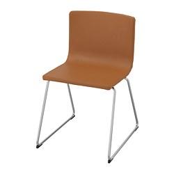 BERNHARD - chair, chrome-plated/Mjuk golden-brown | IKEA Hong Kong and Macau - PE736173_S3