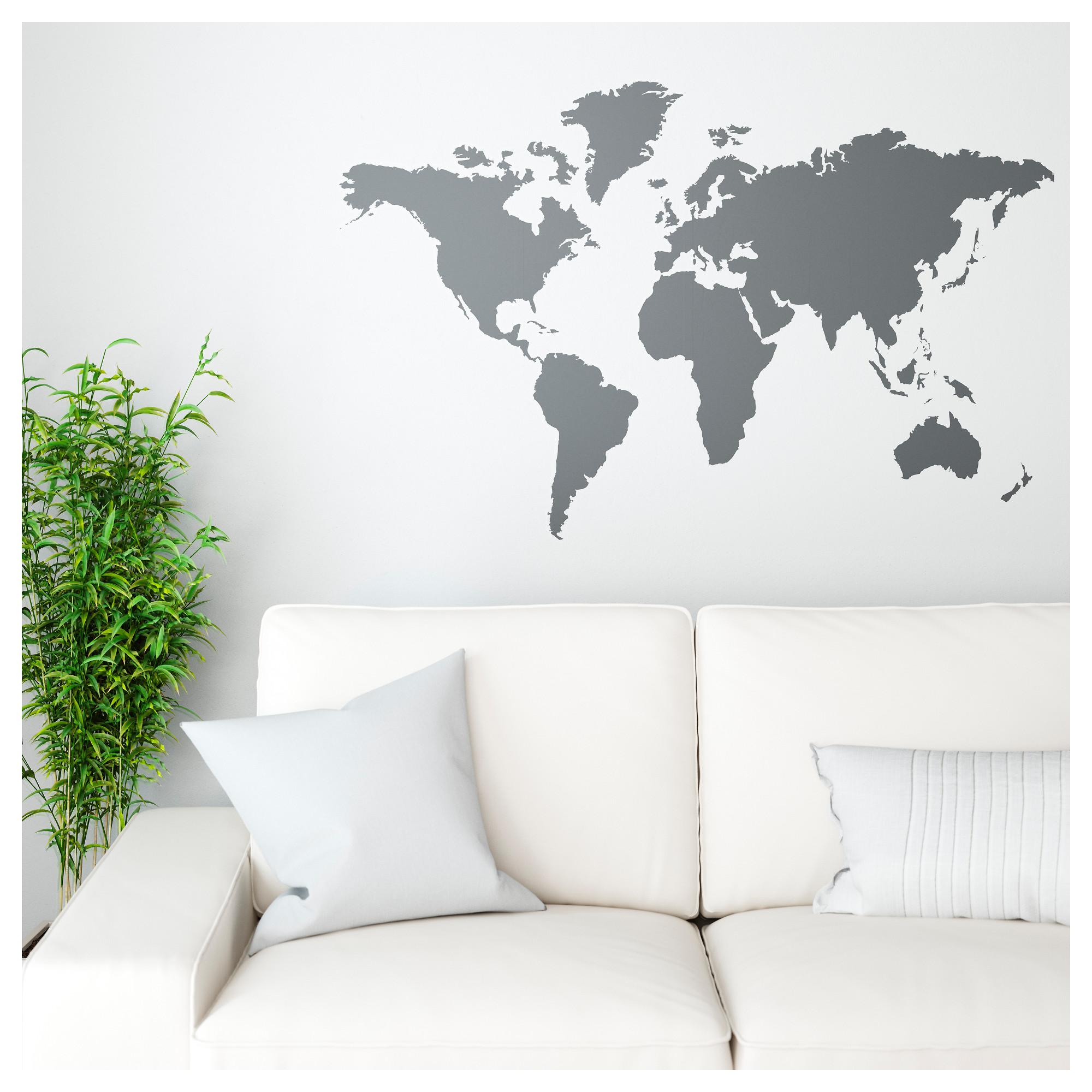 KLÄTTA - decoration stickers, blackboard world   IKEA Hong Kong on giant wall world map, ikea wardrobe assembly fail, ikea prints,