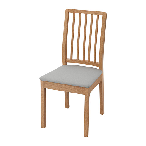EKEDALEN - chair, oak/Orrsta light grey | IKEA Hong Kong and Macau - PE736177_S4