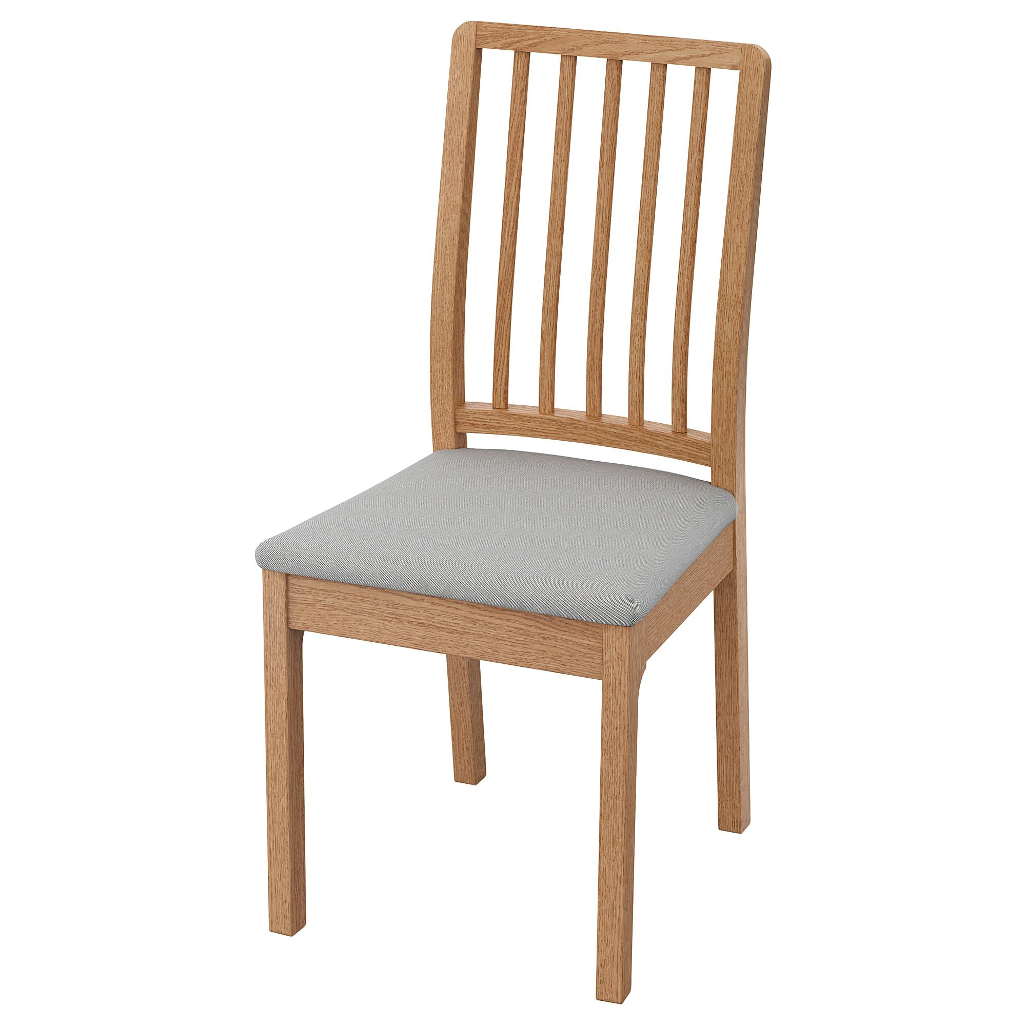 Ekedalen Chair Oak Orrsta Light Grey Ikea Hong Kong