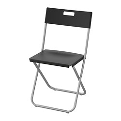 GUNDE - folding chair, black | IKEA Hong Kong and Macau - PE736184_S3