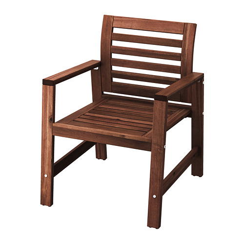 ÄPPLARÖ 戶外扶手椅