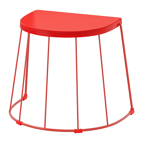 TRANARÖ - stool/side table, in/outdoor, red | IKEA Hong Kong and Macau - PE736230_S4