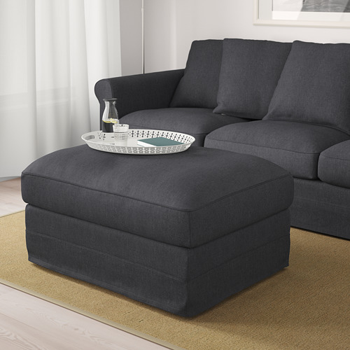 GRÖNLID - footstool with storage, Sporda dark grey | IKEA Hong Kong and Macau - PE675063_S4