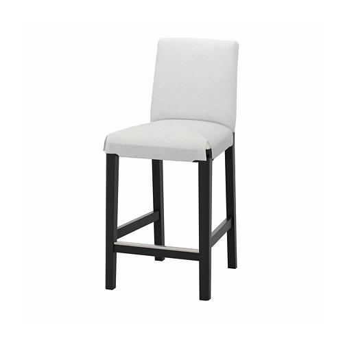 BERGMUND - 高腳凳連靠背框, 黑色 | IKEA 香港及澳門 - PE789785_S4