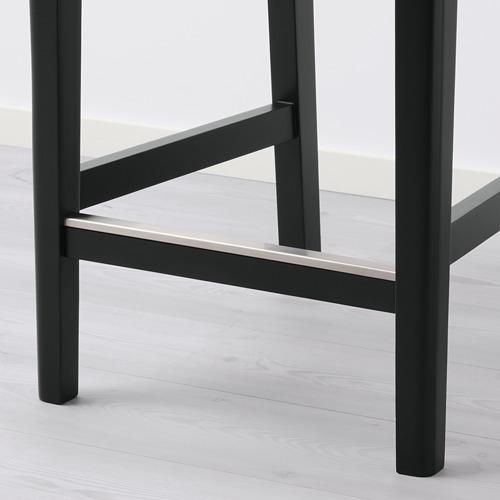 BERGMUND - 高腳凳連靠背框, 黑色 | IKEA 香港及澳門 - PE789791_S4