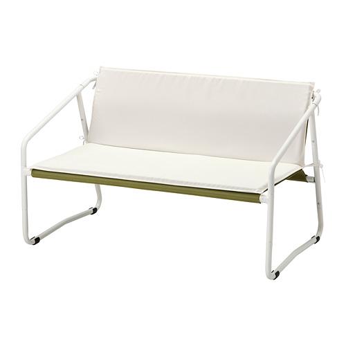 INGMARSÖ - 兩座位梳化,室內/戶外用, 白色 綠色/米黃色 | IKEA 香港及澳門 - PE789849_S4
