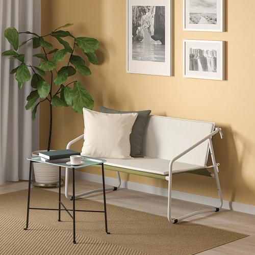 INGMARSÖ - 兩座位梳化,室內/戶外用, 白色 綠色/米黃色 | IKEA 香港及澳門 - PE789852_S4