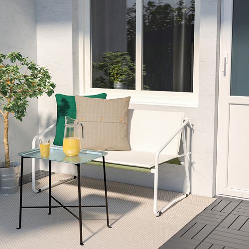 INGMARSÖ - 兩座位梳化,室內/戶外用, 白色 綠色/米黃色 | IKEA 香港及澳門 - PE789851_S4