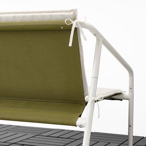 INGMARSÖ - 兩座位梳化,室內/戶外用, 白色 綠色/米黃色 | IKEA 香港及澳門 - PE789850_S4