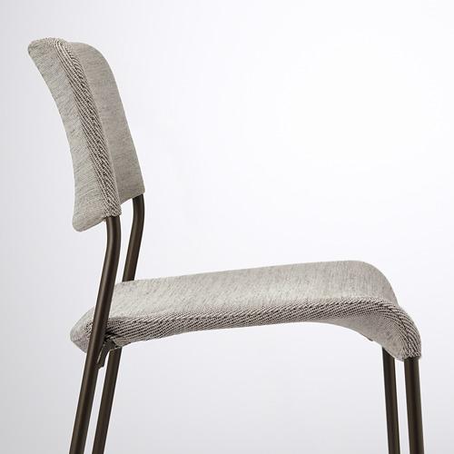 UDMUND/EKEDALEN - 一檯兩椅, 深褐色 褐色/Viarp 米黃色/褐色   IKEA 香港及澳門 - PE789858_S4