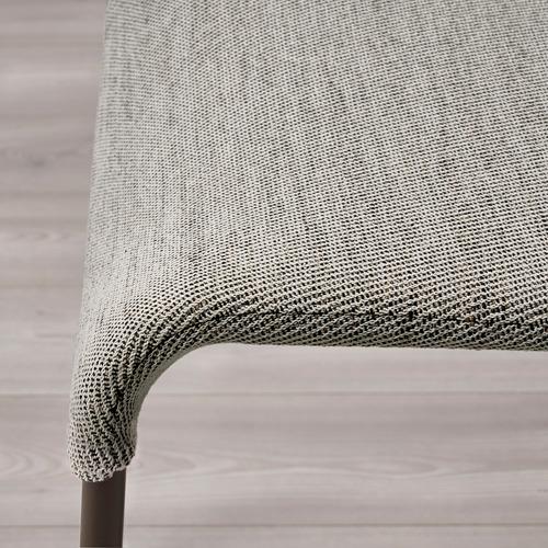 UDMUND/EKEDALEN - 一檯兩椅, 深褐色 褐色/Viarp 米黃色/褐色   IKEA 香港及澳門 - PE789859_S4