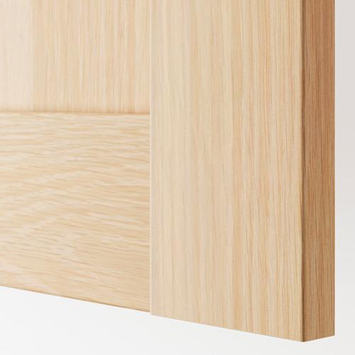 BERGSBO - 櫃門連門鉸, 染白橡木紋 | IKEA 香港及澳門 - PE789878_S4