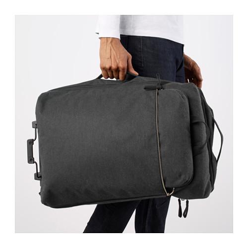 FÖRENKLA - 活輪行李箱連背包, 深灰色 | IKEA 香港及澳門 - PE645870_S4