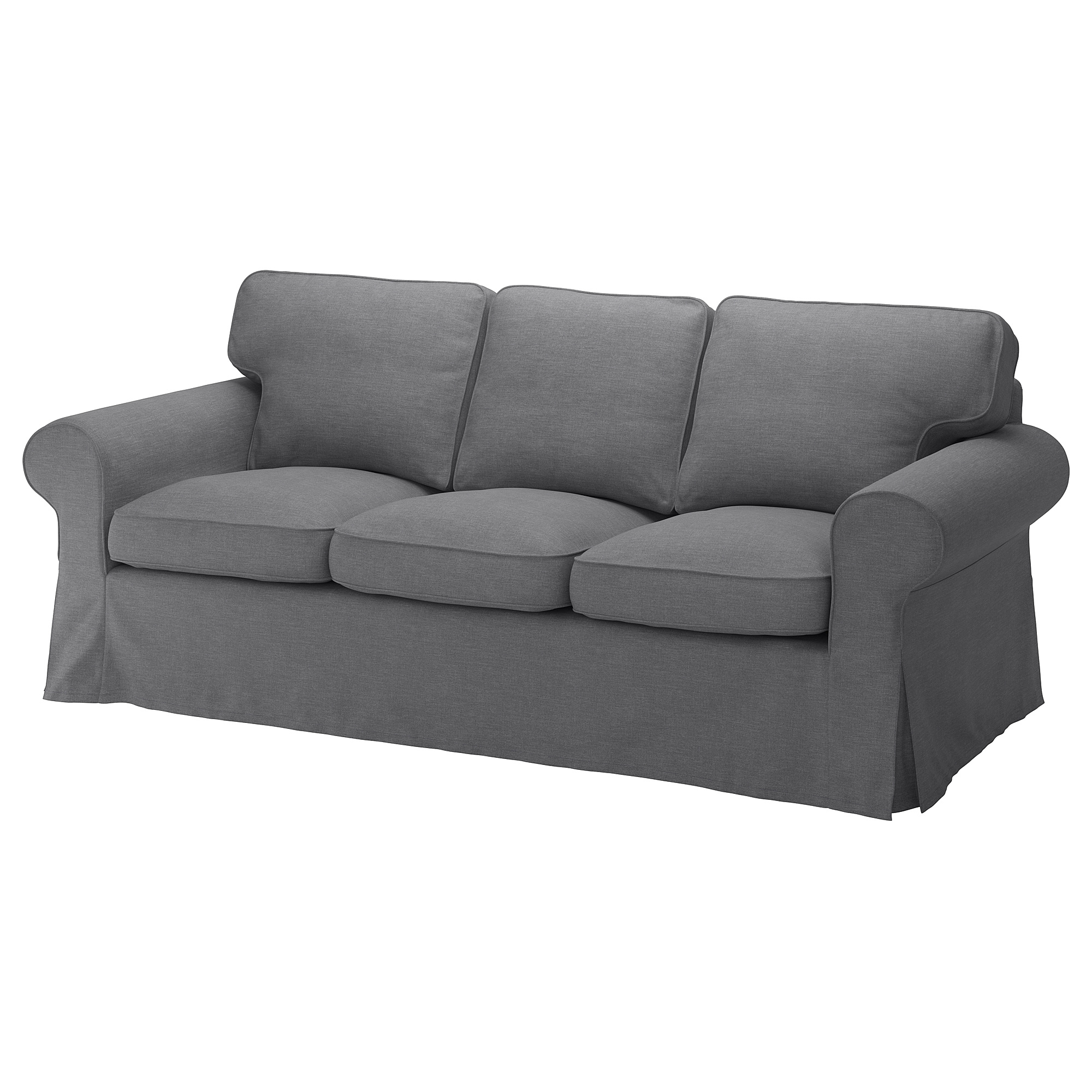Ektorp Three Seat Sofa Nordvalla Dark Grey Ikea Hong Kong