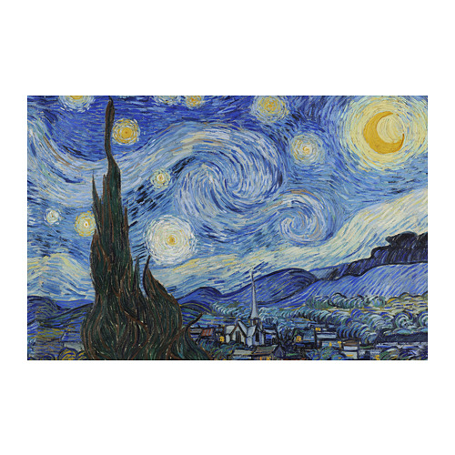 BJÖRKSTA - picture, Starry Night | IKEA Hong Kong and Macau - PE776677_S4