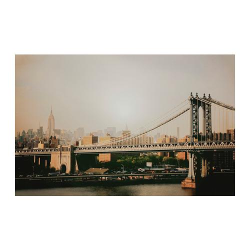 BJÖRKSTA - 畫, 曼哈頓大橋 | IKEA 香港及澳門 - PE776682_S4
