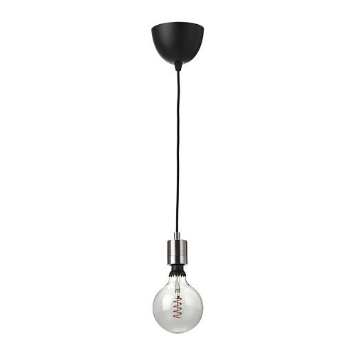 ROLLSBO/SKAFTET pendant lamp with light bulb