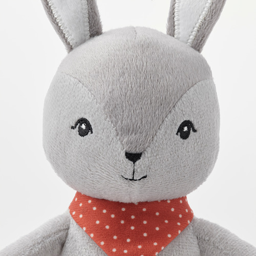 GULLIGAST - squeaky soft toy, grey/red | IKEA Hong Kong and Macau - PE789935_S4