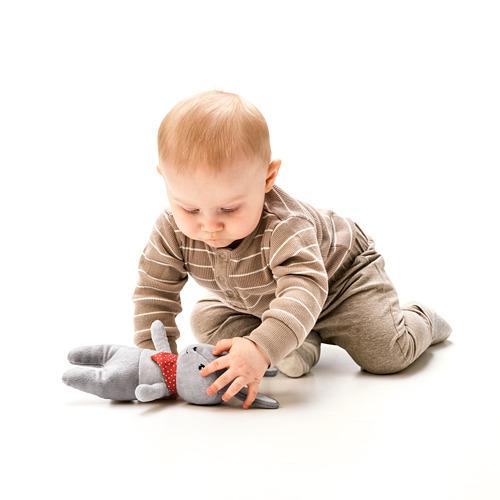 GULLIGAST - squeaky soft toy, grey/red | IKEA Hong Kong and Macau - PE789939_S4