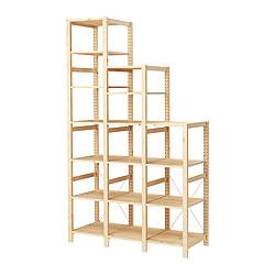 IVAR - 貯物組合, 139x50x124-226cm, 松木 | IKEA 香港及澳門 - PE250450_S3