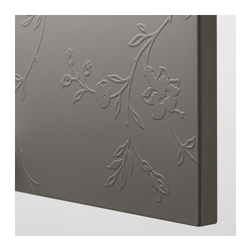 FLORNES - door with hinges, dark grey | IKEA Hong Kong and Macau - PE694021_S4