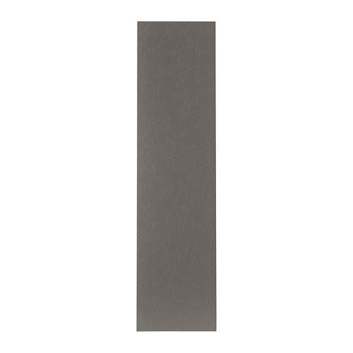 FLORNES - door with hinges, dark grey | IKEA Hong Kong and Macau - PE694022_S4