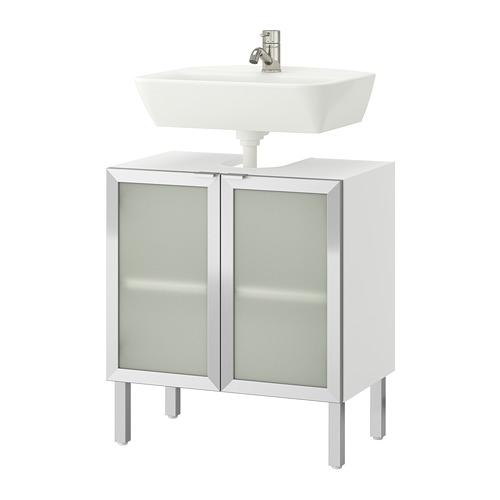 LILLÅNGEN/TYNGEN 雙門洗手盆地櫃